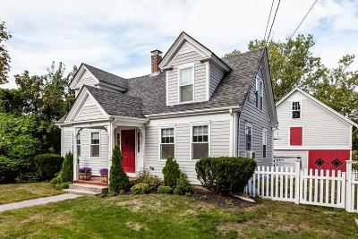 Cohasset MA Single Family Home Contingent: $584,900