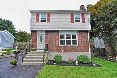 Dedham Single Family Home New: 36 Wentworth St
