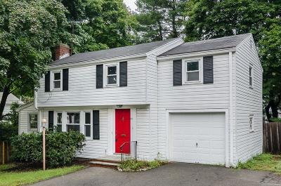 Weymouth Single Family Home Under Agreement: 25 John Quincy Lane