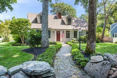 Falmouth Single Family Home New: 110 Mill Rd
