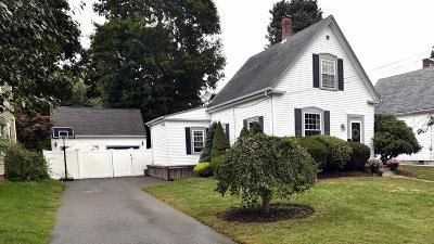 Whitman Single Family Home Under Agreement: 24 Pearl St