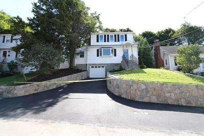 Waltham Single Family Home For Sale: 134 Florence Road