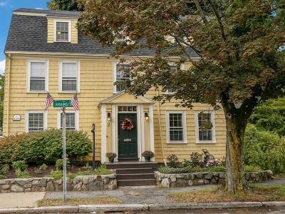 Medford Single Family Home For Sale: 2 Woburn Street