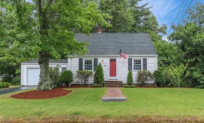 Brockton Single Family Home New: 105 Woodard Ave