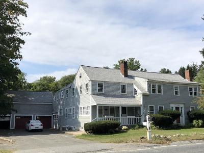 Holliston Multi Family Home Under Agreement: 180 Concord St