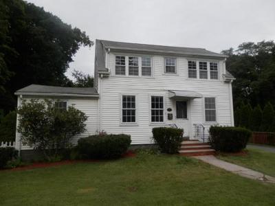 Cohasset, Weymouth, Braintree, Quincy, Milton, Holbrook, Randolph, Avon, Canton, Stoughton Single Family Home New: 294 Union St