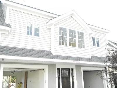 Cohasset, Weymouth, Braintree, Quincy, Milton, Holbrook, Randolph, Avon, Canton, Stoughton Condo/Townhouse New: 131 Sumner Street #7