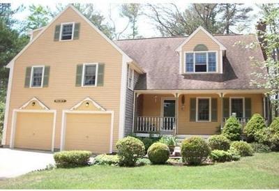 Carver Single Family Home New: 3 Island Farm Rd.