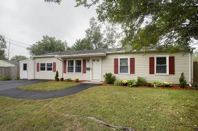 Whitman Single Family Home Under Agreement: 112 Homeland Dr