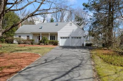 Wellesley Single Family Home For Sale: 33 Chestnut Street