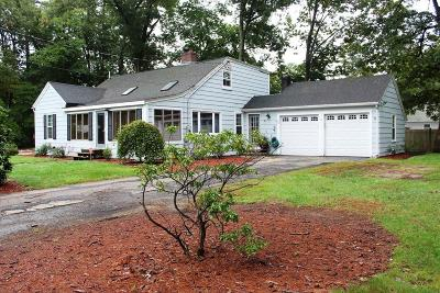 Norton MA Single Family Home Under Agreement: $300,000