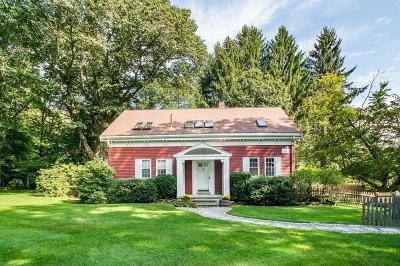 Wayland Single Family Home Contingent: 278 Old Connecticut Path