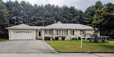 Johnston RI Single Family Home Reactivated: $319,000