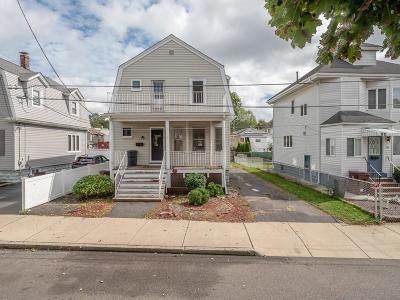 Revere Single Family Home Under Agreement: 71 Haskell Ave