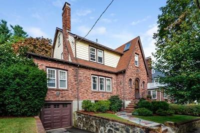 Arlington MA Single Family Home Under Agreement: $975,000