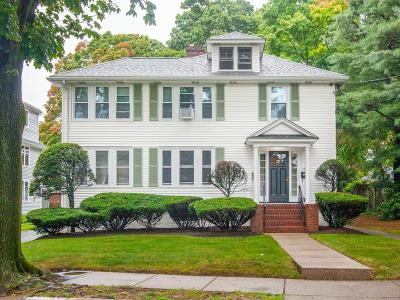 Newton Multi Family Home Under Agreement: 53-55 Orchard Avenue