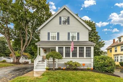 Wakefield Single Family Home Under Agreement: 21 Sweetser St