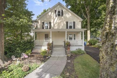 Wakefield Single Family Home Under Agreement: 12 Crescent Street