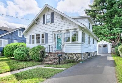 Melrose Single Family Home Under Agreement: 478 Swains Pond Avenue