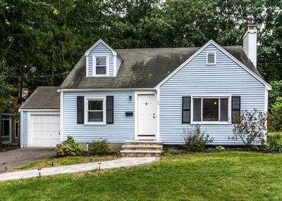 Needham Single Family Home Under Agreement: 44 Nevada Rd