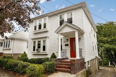 Revere Single Family Home Under Agreement: 83 Reservoir Ave