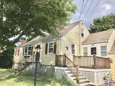 Randolph Single Family Home Under Agreement: 8 Davis Rd