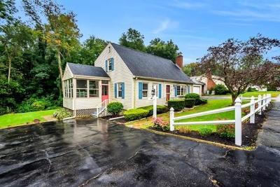 Woburn Single Family Home Under Agreement: 16 Revere Rd