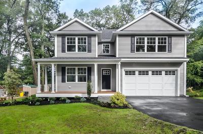 Framingham Single Family Home Under Agreement: 52 Morse Road