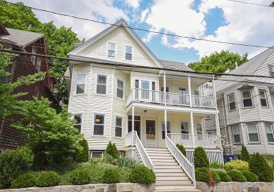 Condo/Townhouse Under Agreement: 22 Boylston St #3