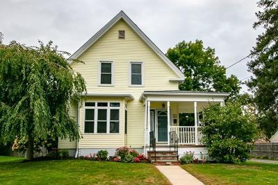 Whitman Single Family Home Under Agreement: 37 Hobart Sq