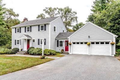 Sudbury Single Family Home Under Agreement: 250 Morse Rd