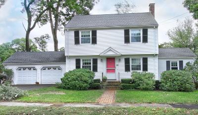 Needham Single Family Home Contingent: 65 Douglas Rd