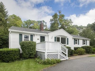 Scituate Single Family Home Under Agreement: 52 Edith Holmes