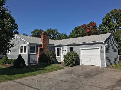 Dedham Single Family Home Under Agreement: 70 Carol Drive