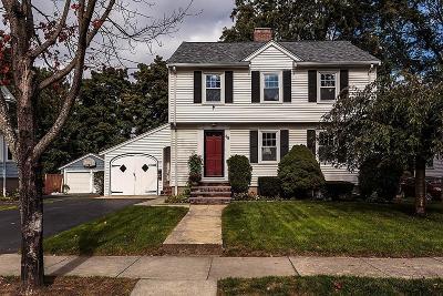Belmont Single Family Home Under Agreement: 88 Dean Street