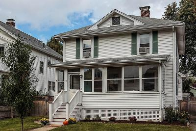 Watertown Single Family Home Under Agreement: 74 Fitchburg St