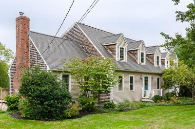 Scituate Single Family Home For Sale: 768 First Parish Road
