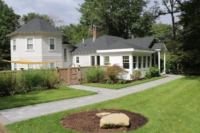 Wayland Single Family Home Under Agreement: 60 Rice Road