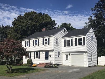 Needham Single Family Home Under Agreement: 53 Carey Rd