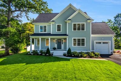 Needham Single Family Home For Sale: 162 Warren St #1