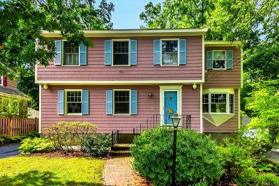 Stoneham Single Family Home Under Agreement: 21 Newcomb Rd