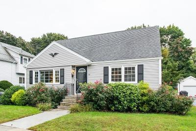 Saugus Single Family Home Under Agreement: 42 Pleasant St