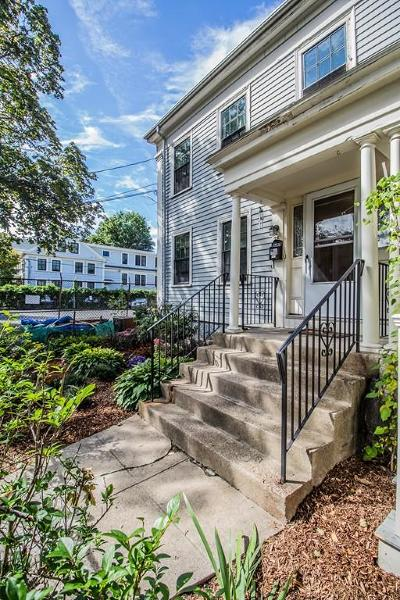 Cambridge Single Family Home For Sale: 25 Tremont St