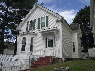 Lowell Single Family Home For Sale: 23 Marsh St