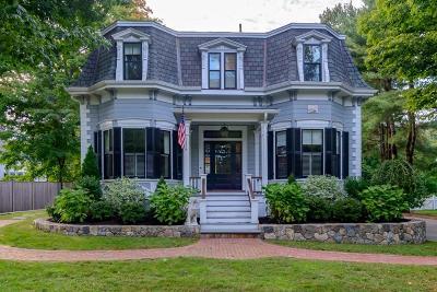 Wellesley Single Family Home For Sale: 103 Washington Street