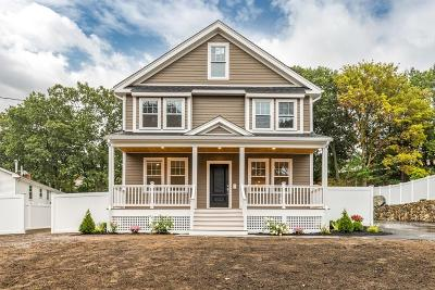 Stoneham Single Family Home Sold: 80 Pond St