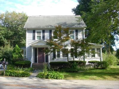 Hudson Single Family Home Under Agreement: 133 Cox St