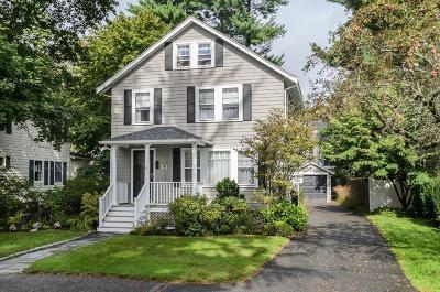 Wellesley Single Family Home For Sale: 18 Elmwood Road