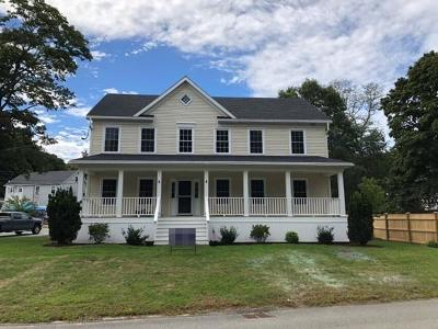 Cohasset MA Single Family Home Under Agreement: $849,000