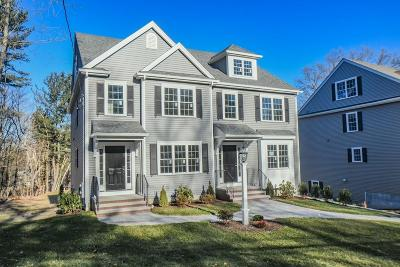 Natick Single Family Home For Sale: 283 West Central #A